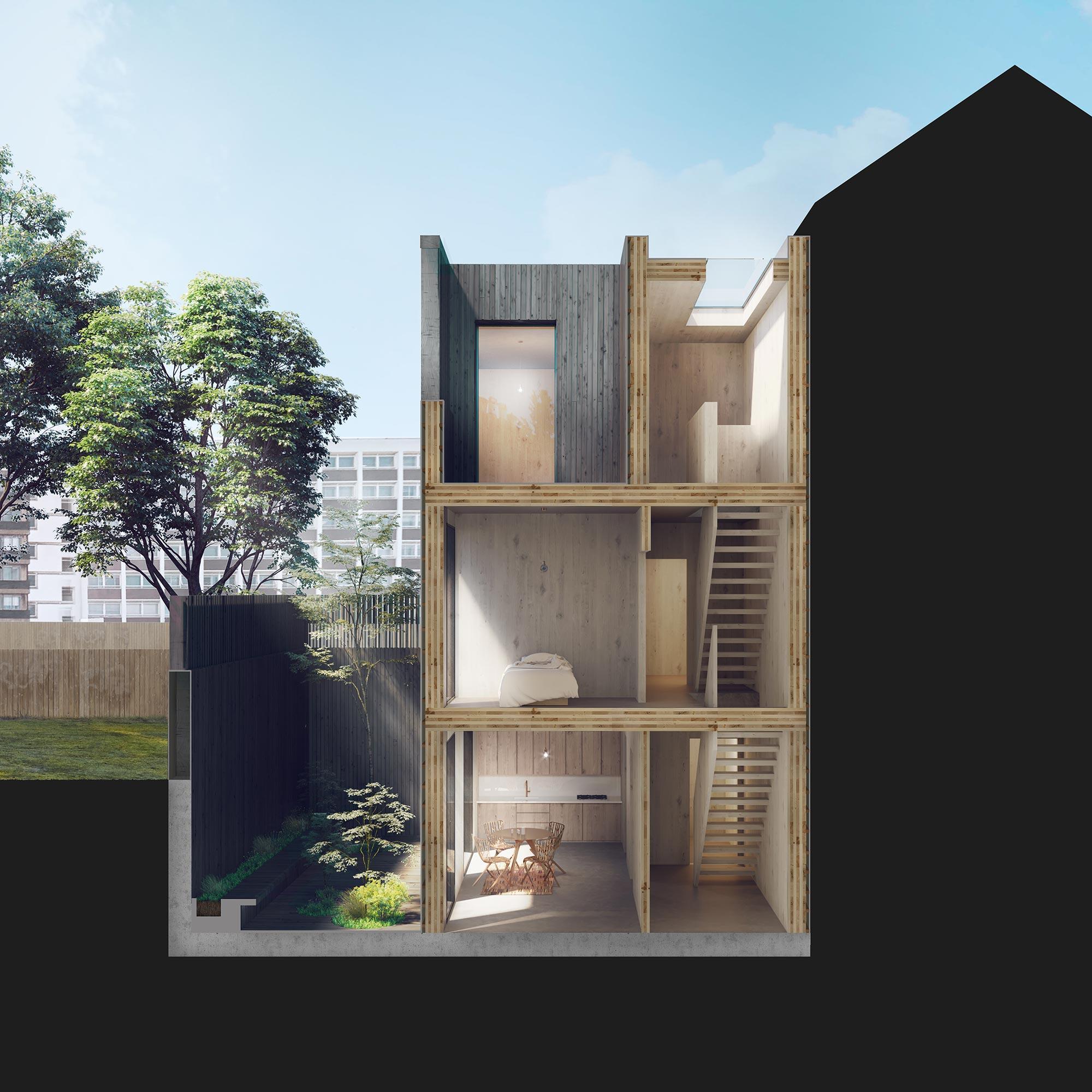 Mobile Home Design Uk: Adjaye Associates